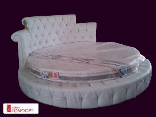 Спалня луксозна кръгла