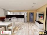 Реализиран проект на кухня 4