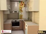 Реализиран проект на кухня 5