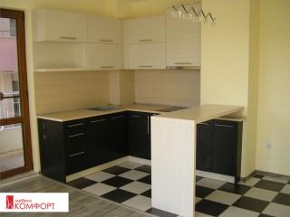 """Кухня """"Черно и бяло"""""""